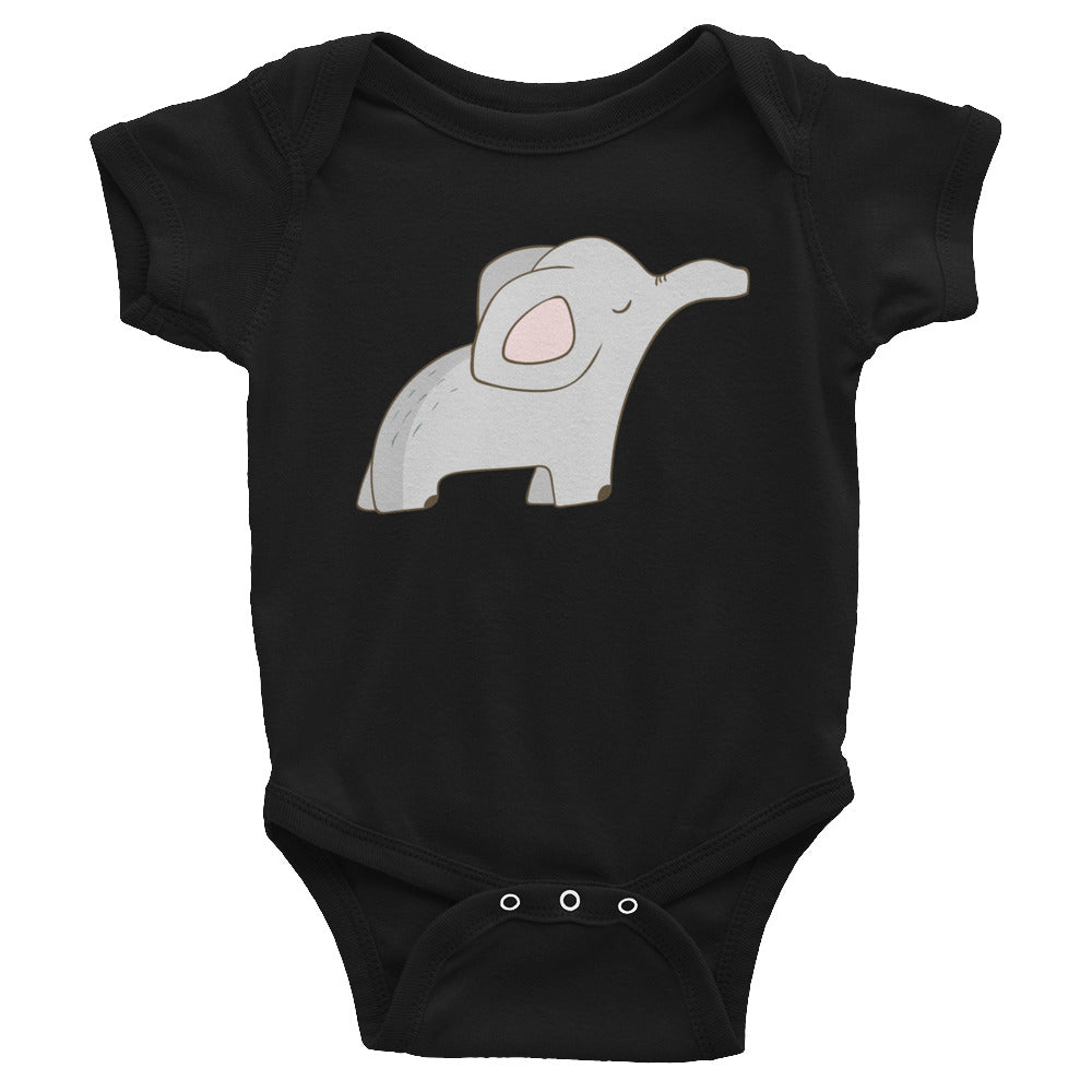 Baby Elephant Bodysuit - Rebels and Roses Boutique