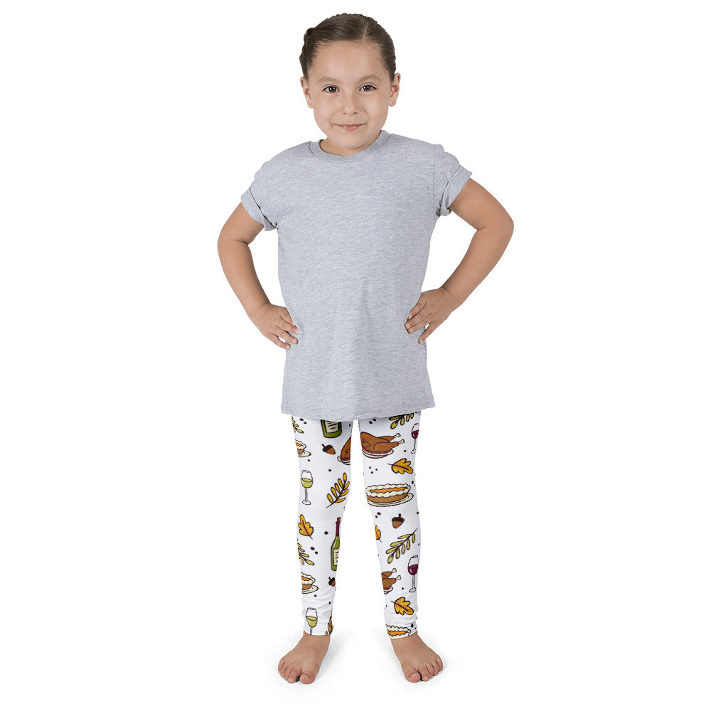 Thanksgiving Day Leggings For Kids - Rebels and Roses Boutique