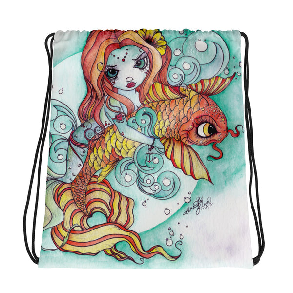 Mermaid Tote Bag - Rebels and Roses Boutique