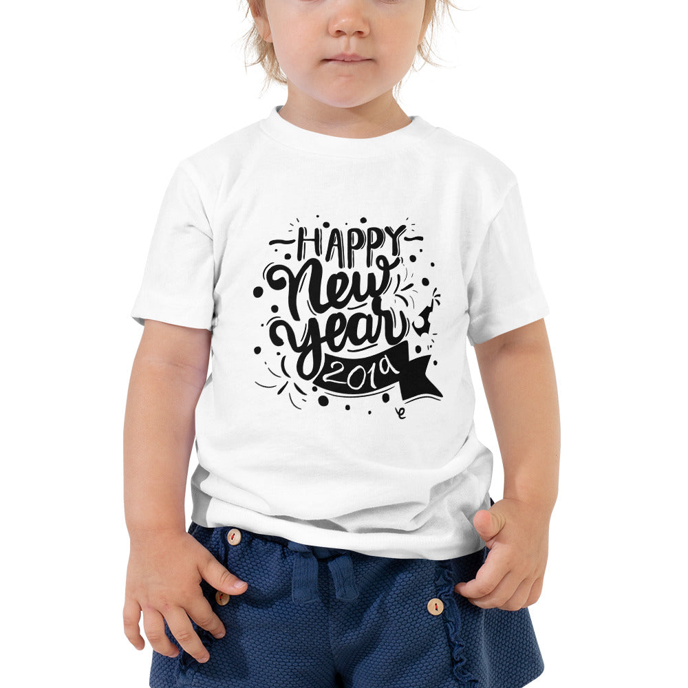 New Years Tee for Toddlers - Rebels and Roses Boutique
