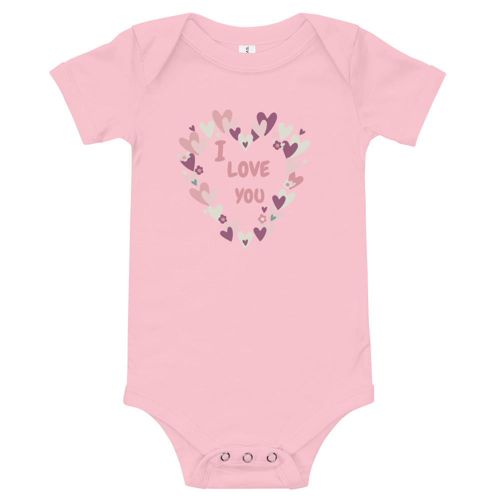 I Love You - Valentine's Day Baby Outfits - Rebels and Roses Boutique