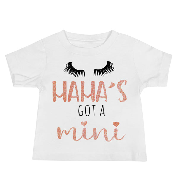 Mama's Got A Mini - Baby Jersey Short Sleeve Tee - Rebels and Roses Boutique