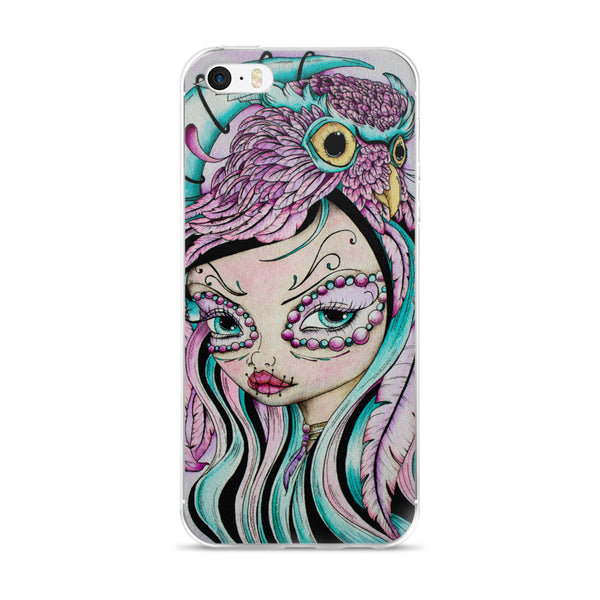 Day of the Dead Girl - iPhone Case