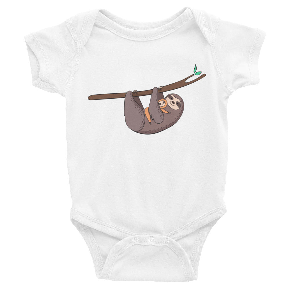 Sloth Baby Shirt - Sloth Shirt - Baby Bodysuit - Rebels and Roses Boutique