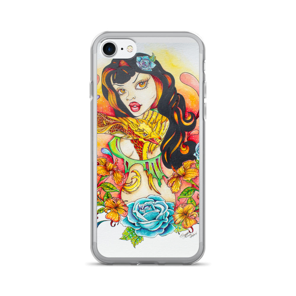 Pin Up Art - iPhone Case