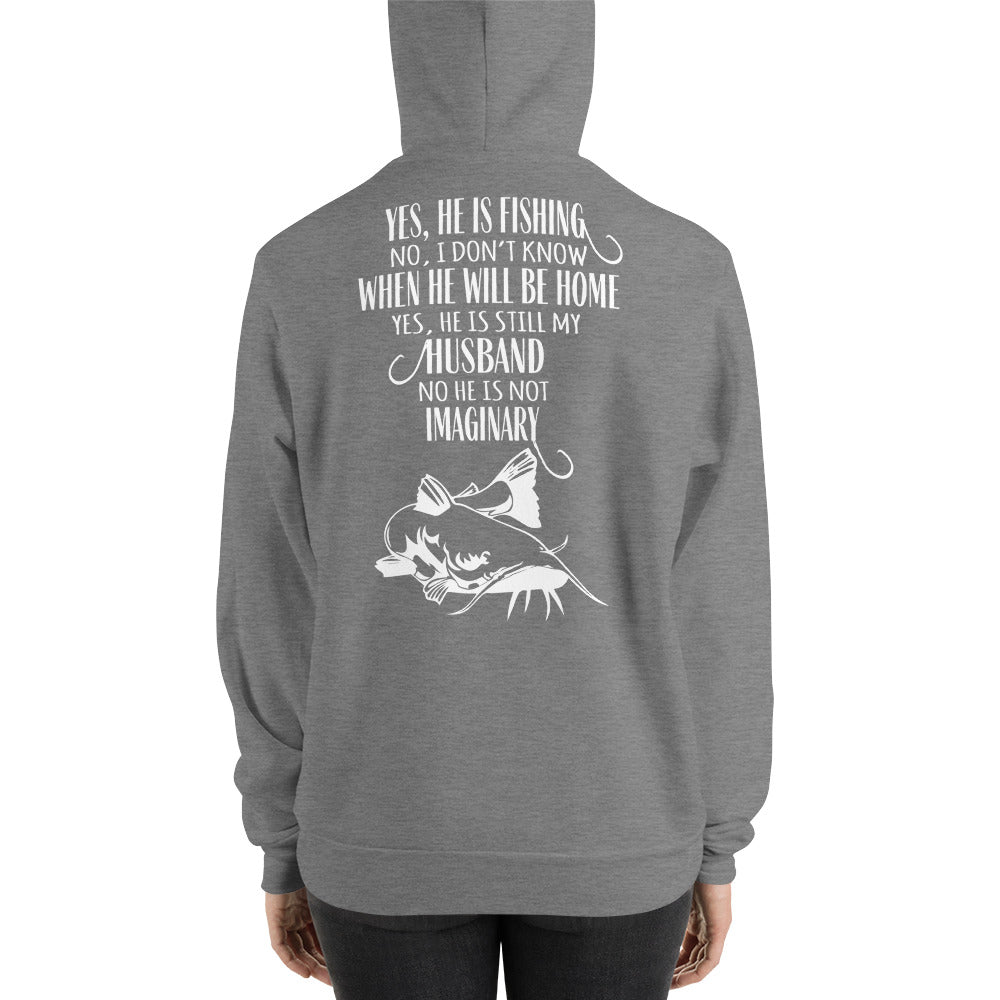 Funny Fishing Hoodie for the Wife, Fishing Shirt for Her - Rebels and Roses Boutique