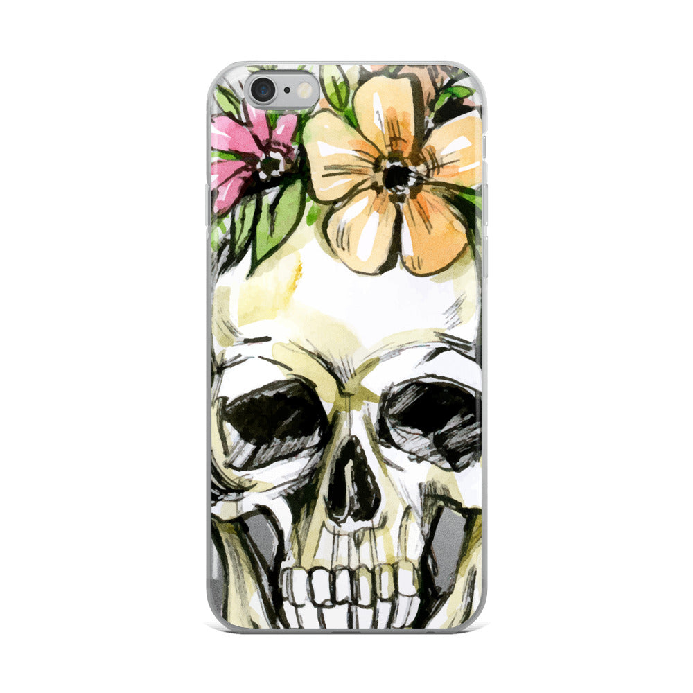 Skull iPhone Case - Rebels and Roses Boutique