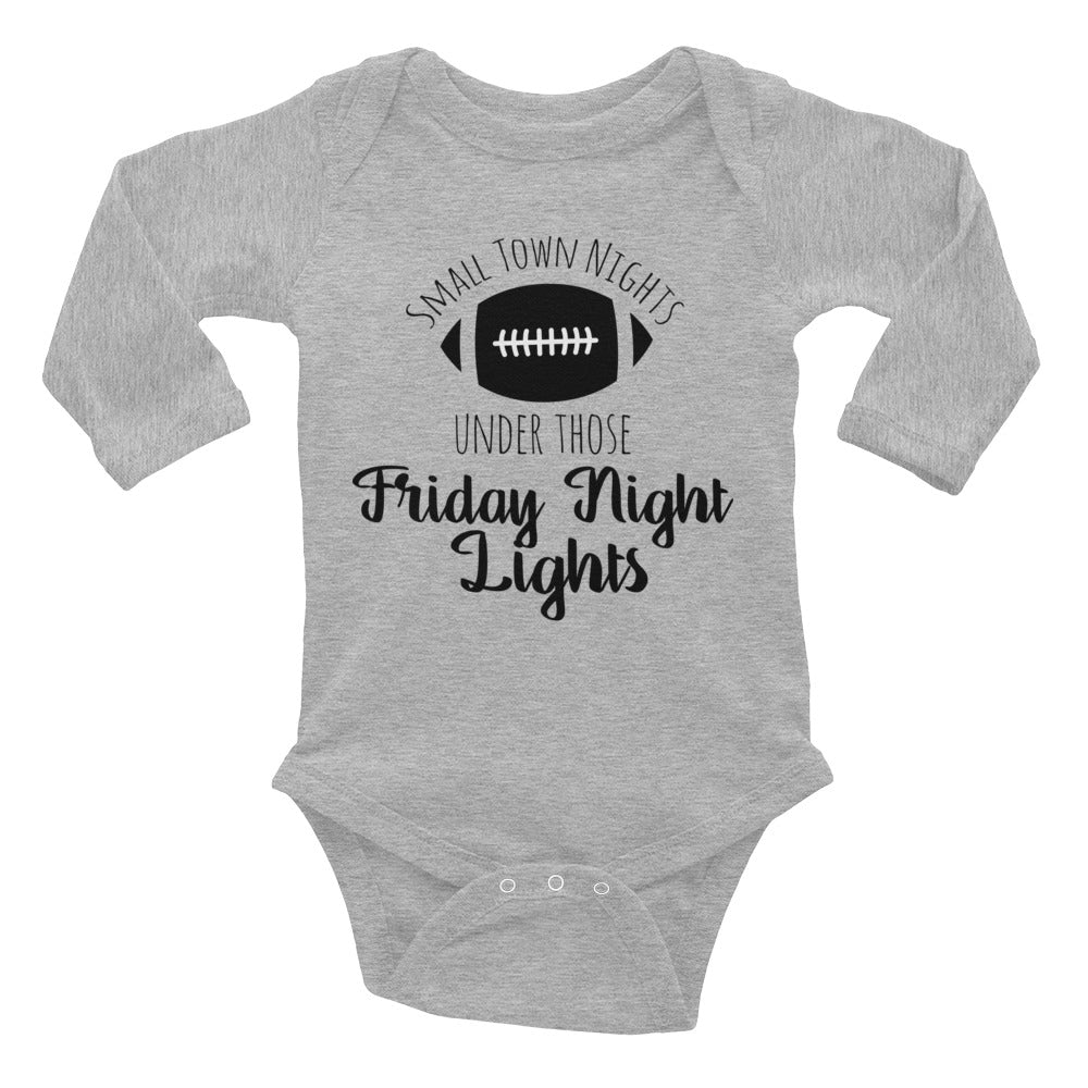Friday Night Lights Football Baby One Piece - Rebels and Roses Boutique