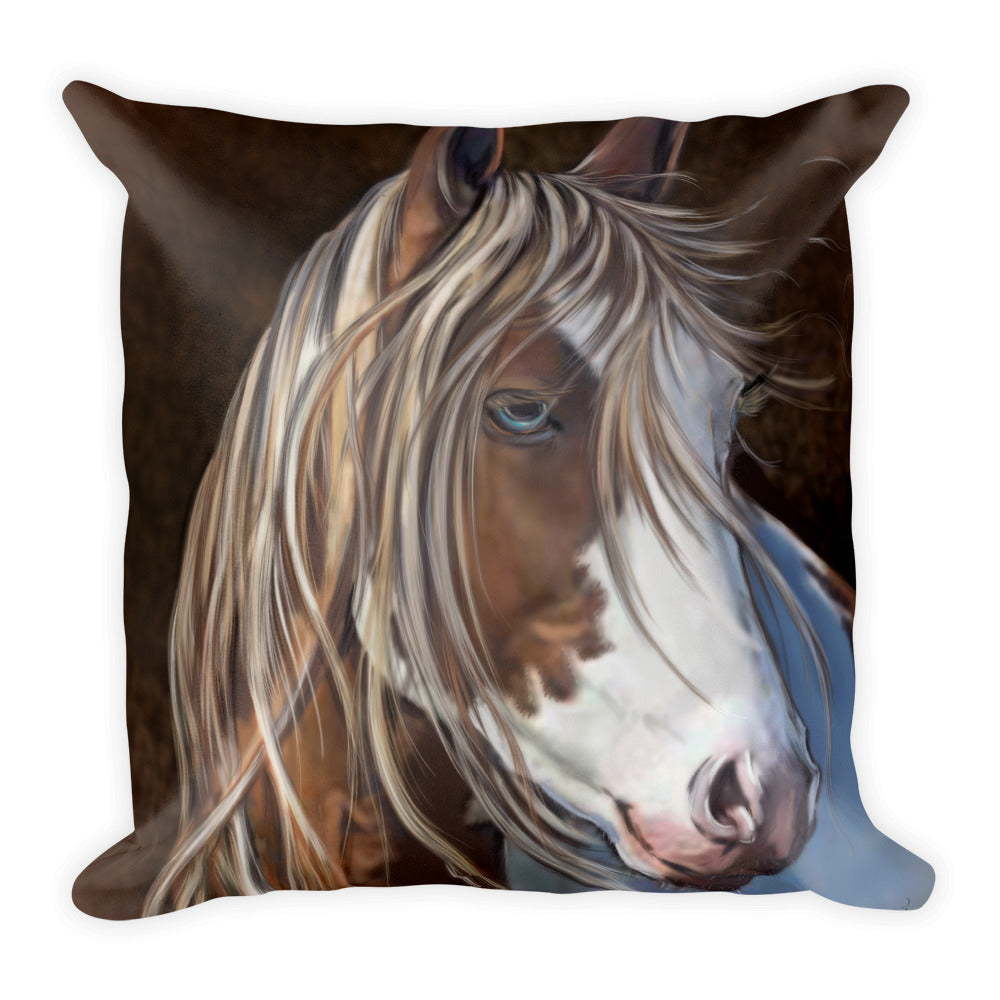 Horse Pillow - Horse Lovers Decor - Rebels and Roses Boutique