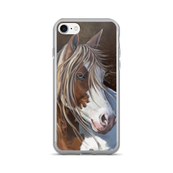 Horse - iPhone Case 7/7 Plus - Gypsy Junk Clothing Trunk