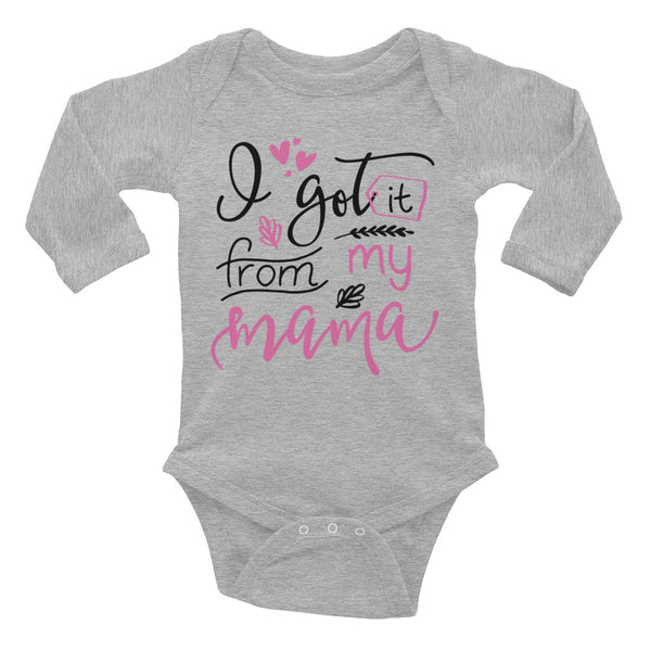 Got it From My Mama - Mother Daughter Babysuit - Rebels and Roses Boutique