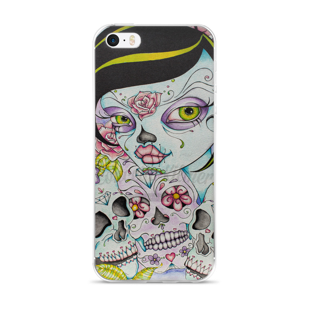 Lady Calavera iPhone Case