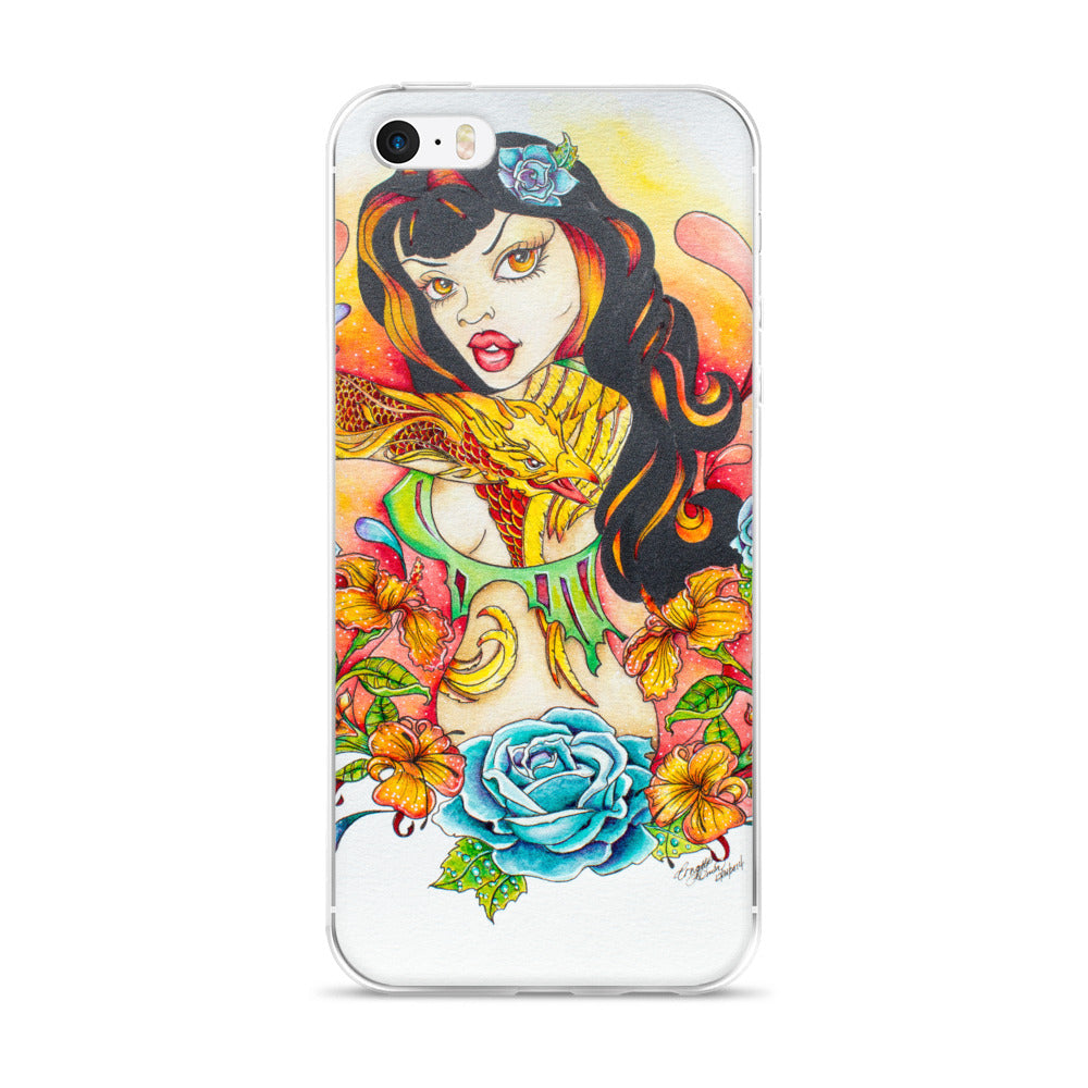 Pin Up Girl - iPhone Case 5/5s/Se, 6/6s, 6/6s Plus - Rebels and Roses Boutique
