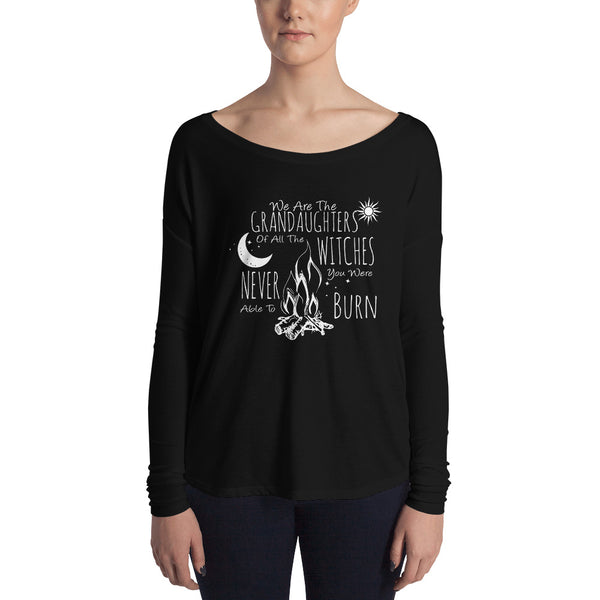 Sisterhood Collection - Grand Daughters of Witches - Slouchy Long Sleeve - Gypsy Junk Clothing Trunk