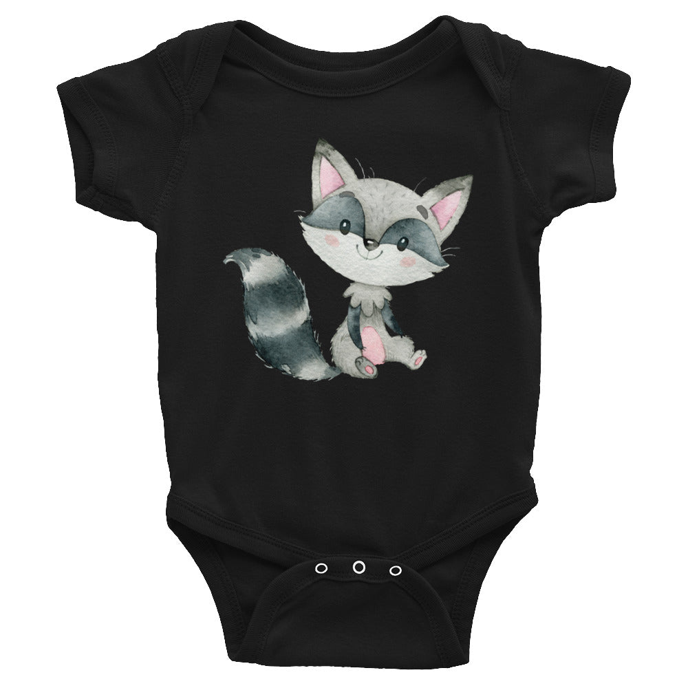 Baby Raccoon Bodysuit - Raccoon Shirt - Rebels and Roses Boutique