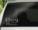 Boy Mama Car Decal