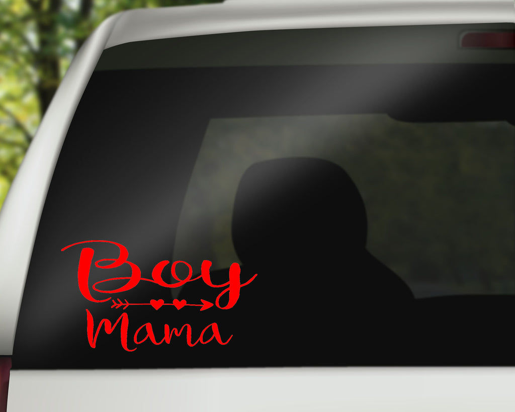 Boy Mama Car Decals/Laptop Decals - Rebels and Roses Boutique