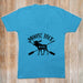 Moose Pack Mama Blue VNeck Moose Pack Top