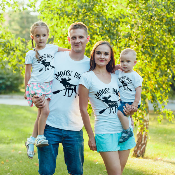 Moose Pack Family Matching Outfits - Gypsy Junk Clothing Trunk