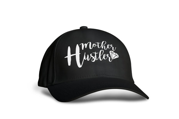 Mother Hustler Ball Cap - Hats for Women - Rebels and Roses Boutique