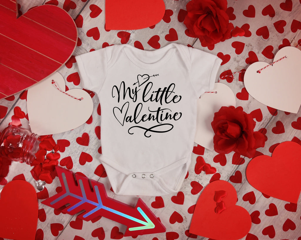 My Little Valentine - Babies First Valentine's Day - Rebels and Roses Boutique