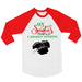 Santa's Naughty List Red and White Mens Holiday Apparel - Rebels and Roses Boutique