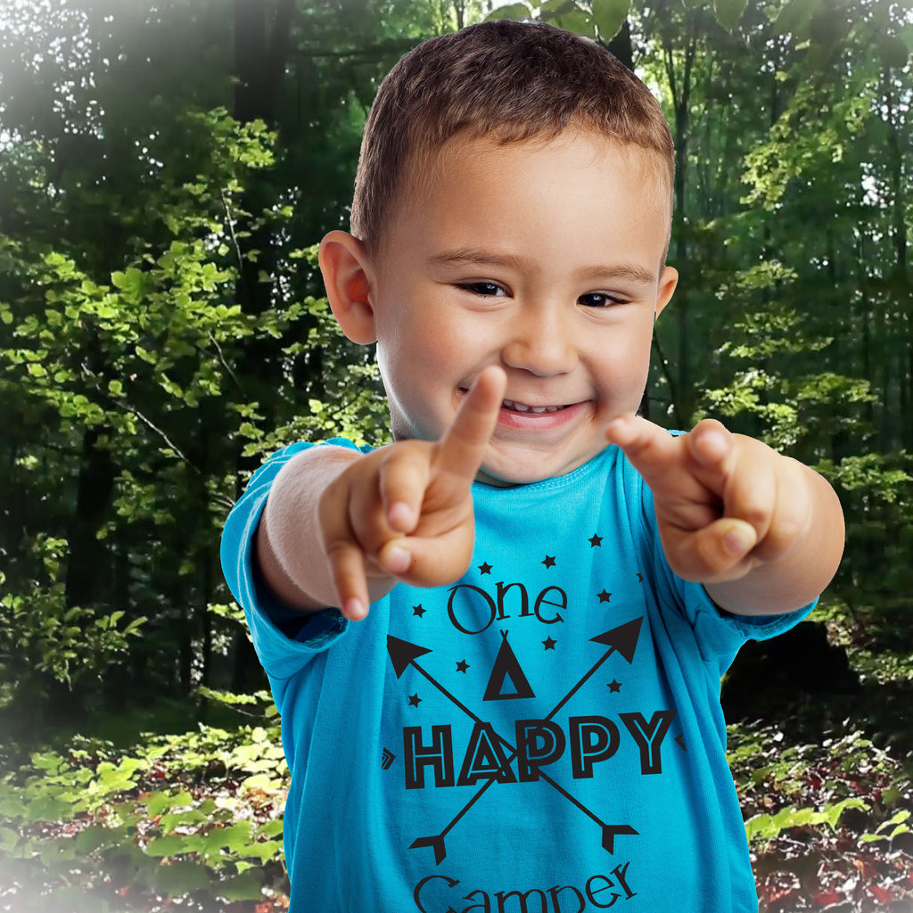 One Happy Camper - Kids TShirt