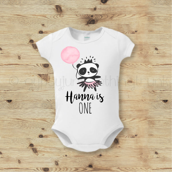 Custom Birthday Baby Bodysuit - First Birthday Top