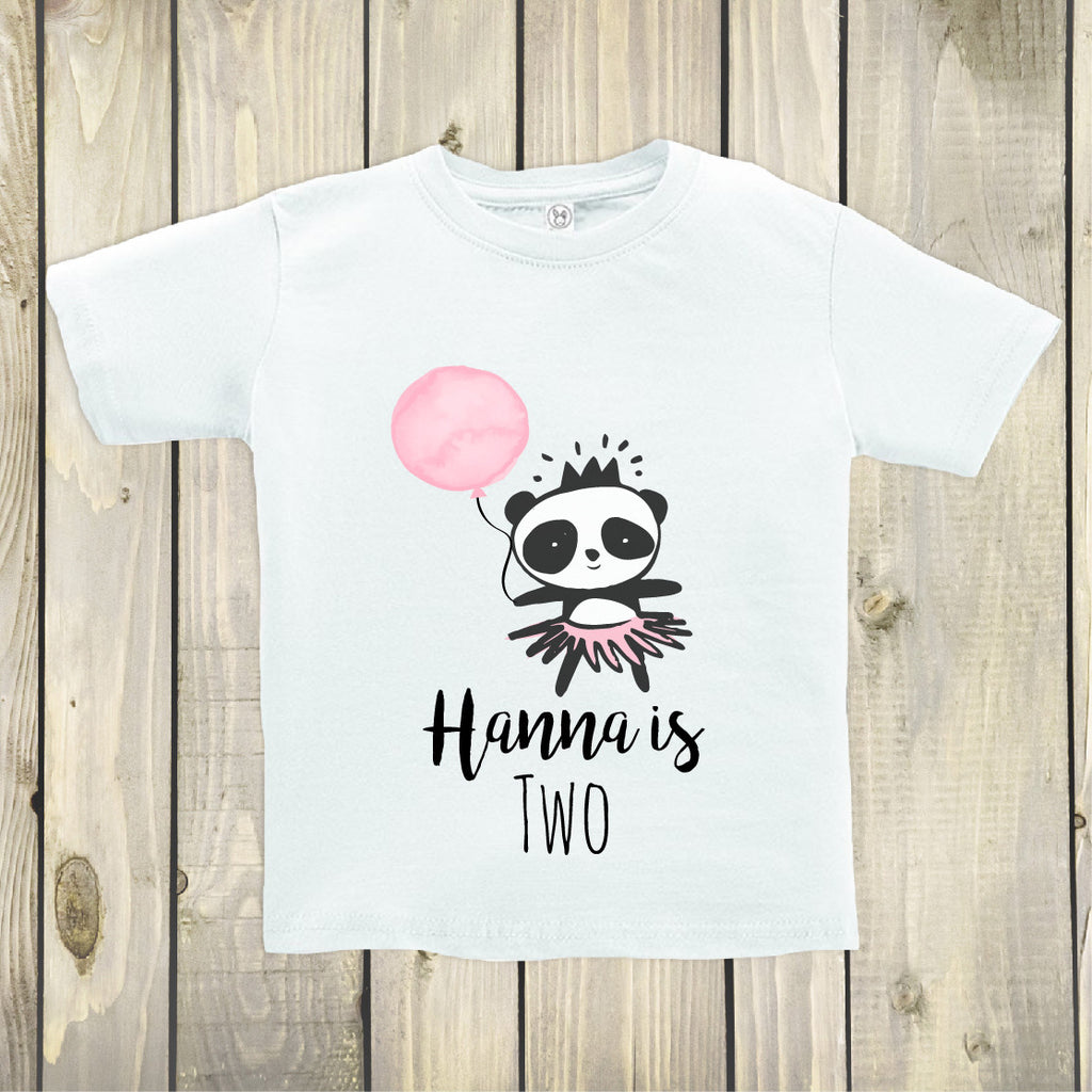 Panda Birthday Top - Custom Birthday Top