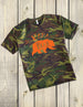 Camo Papa Bear Shirt w Hunter Orange