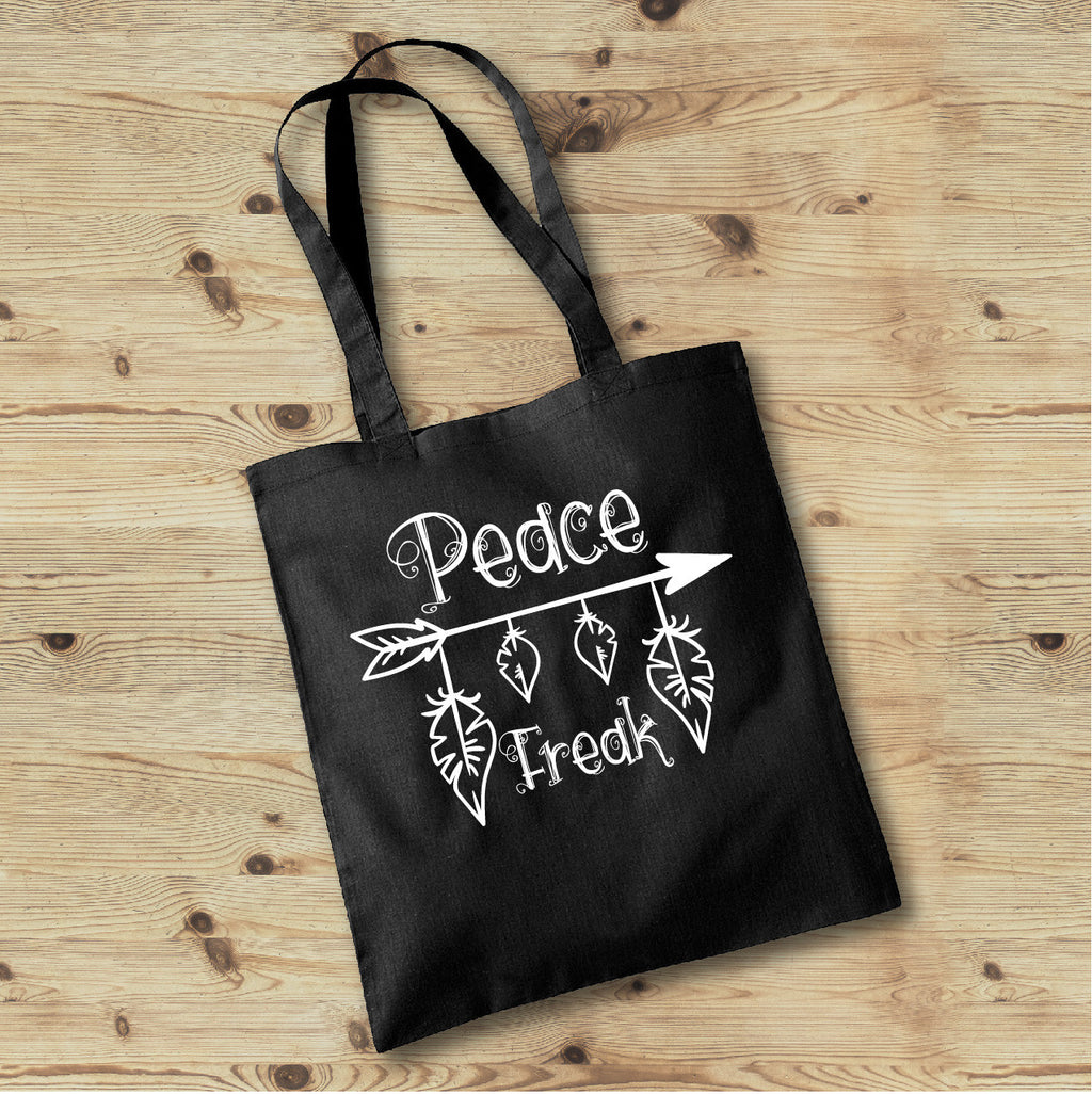 Peace Freak Tote Bag