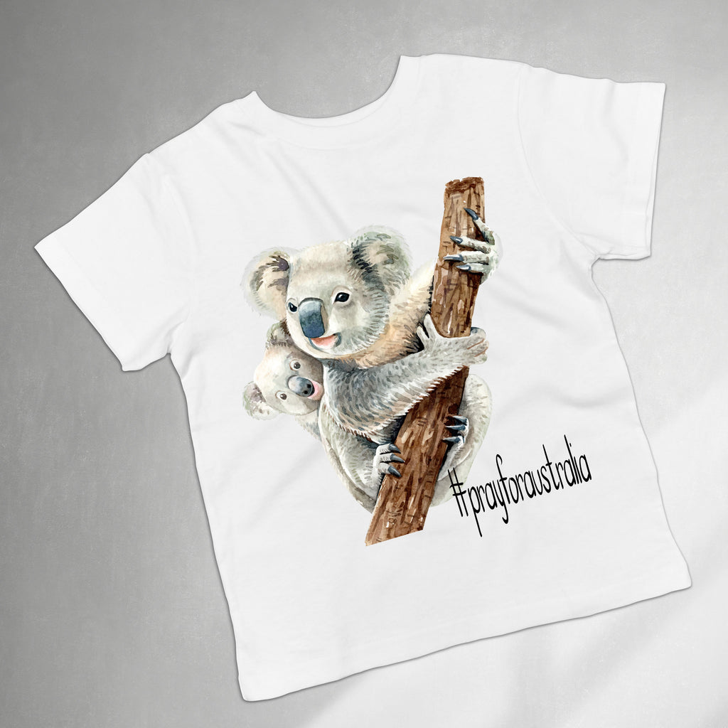 Pray for Australia Kids Tee - World Movement Apparel - Rebels and Roses Boutique