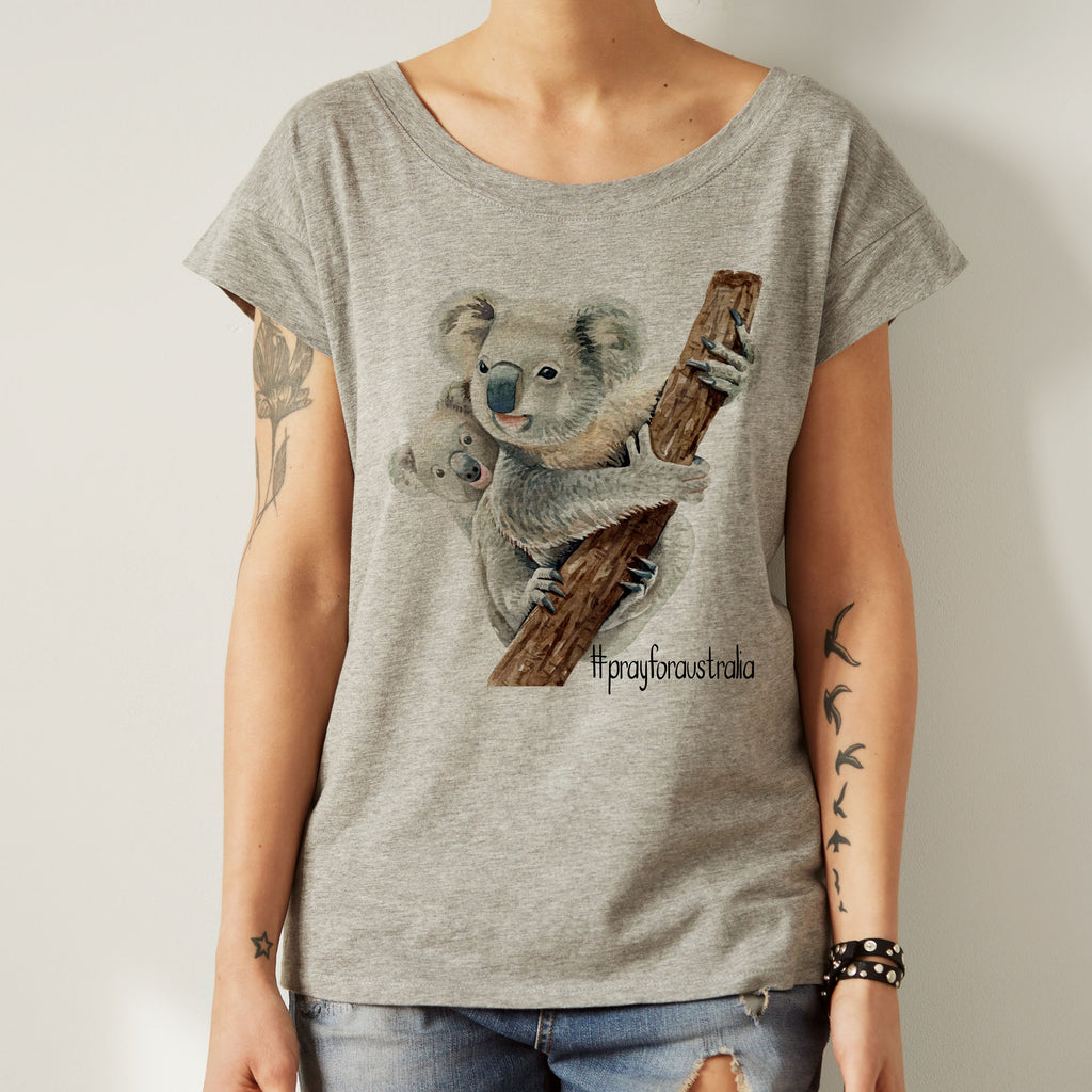 Pray for Australia Shirt - World Movement Tee - Women's Tee - Rebels and Roses Boutique