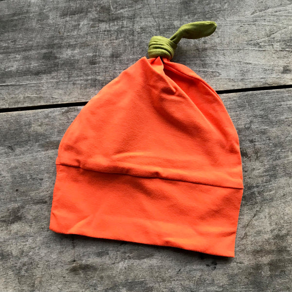Pumpkin Hat for Baby - Halloween Baby Clothes - ON SALE - Rebels and Roses Boutique