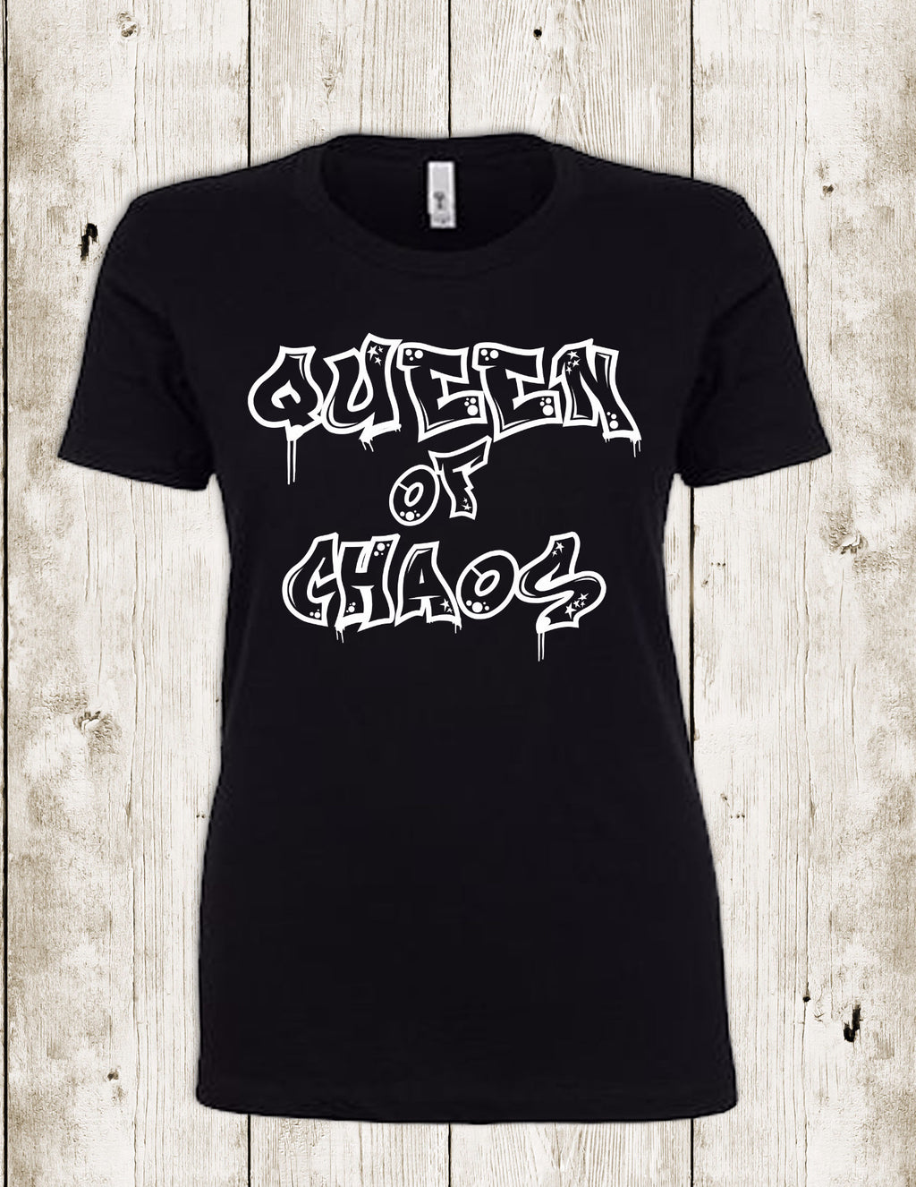 Queen of Chaos - Mom Life Shirt