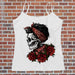 Rockabilly Skull Tank Top
