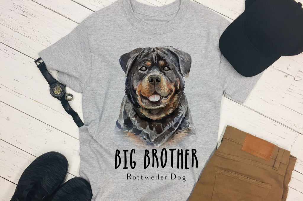 Rottweiler Shirt - Rottweiler Tee for Men - Pet Lovers Shirt - Rebels and Roses Boutique