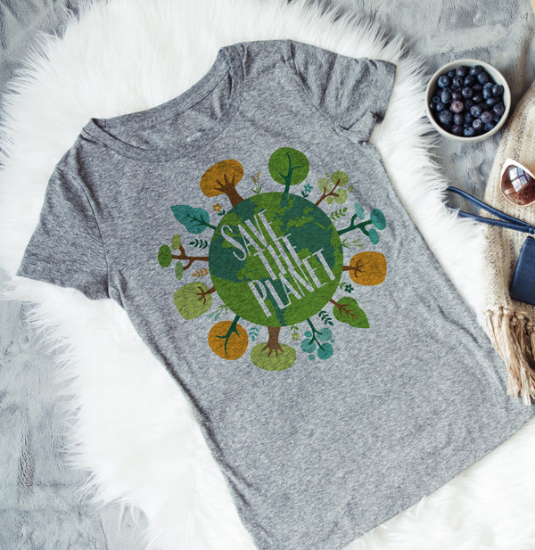 Earth Day Shirt - Save the Earth Shirt - Climate Change Shirt - World Movement - Rebels and Roses Boutique