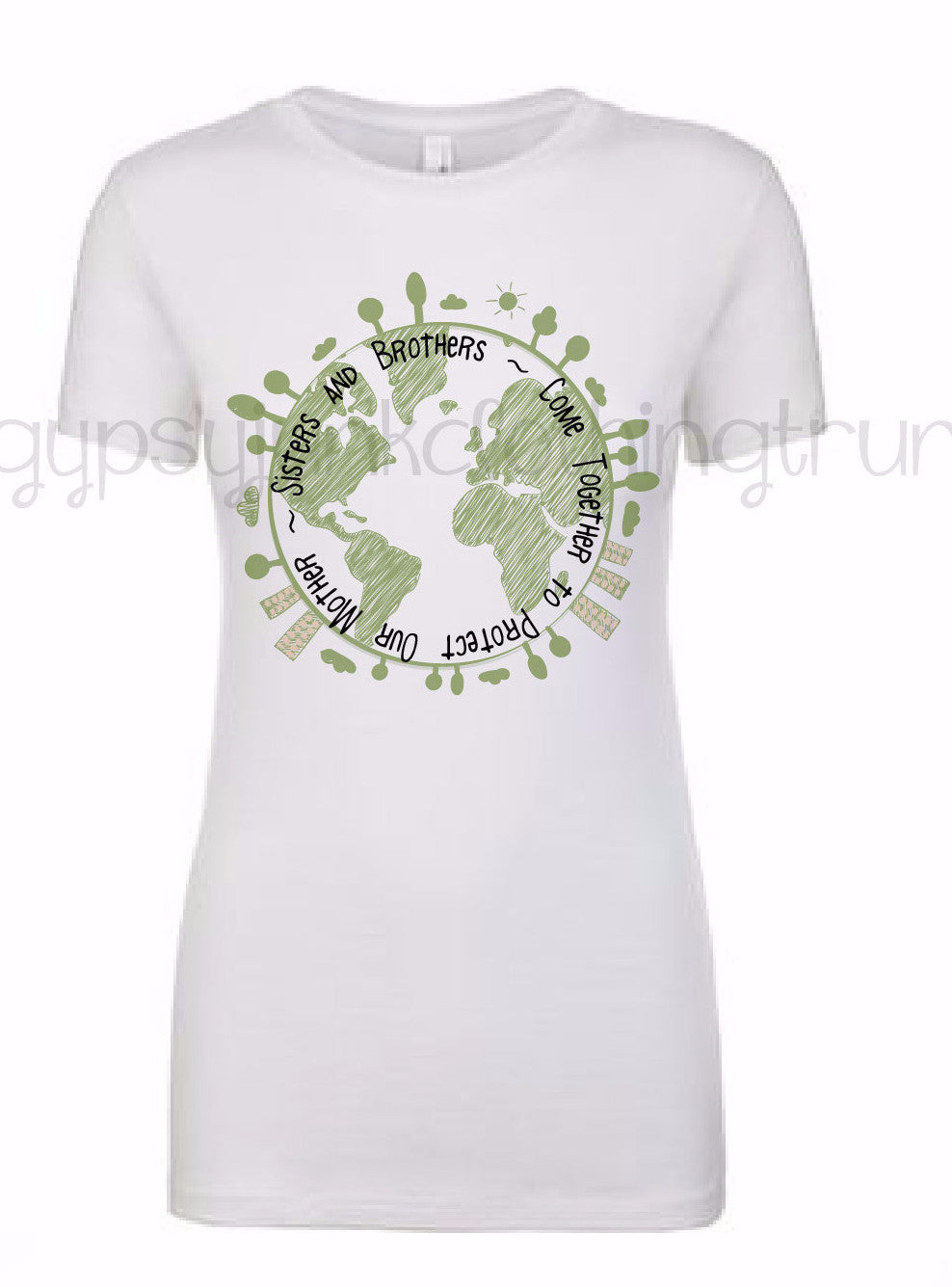 Earth Day Shirt - Save the Earth Shirt - Climate Change Shirt - World Movement - Gypsy Junk Clothing Trunk