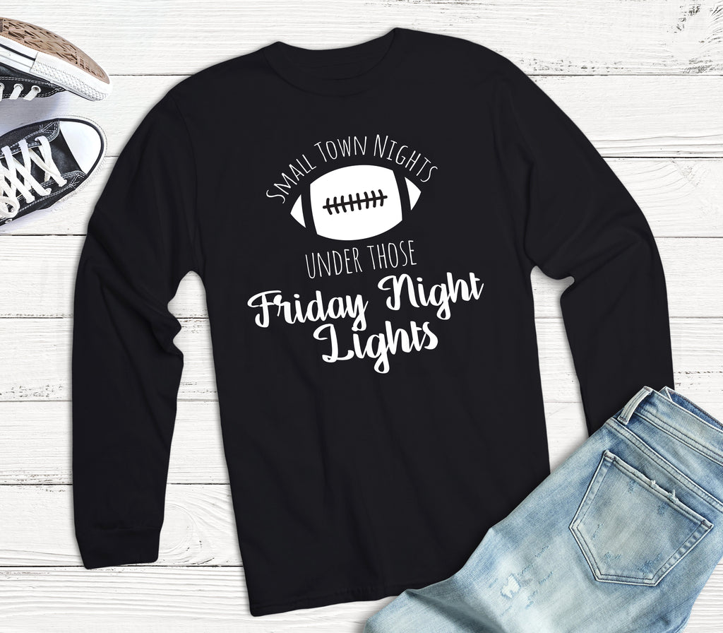 Small Town Nights - Friday Night Football - Kid's Sports Tee - Rebels and Roses Boutique