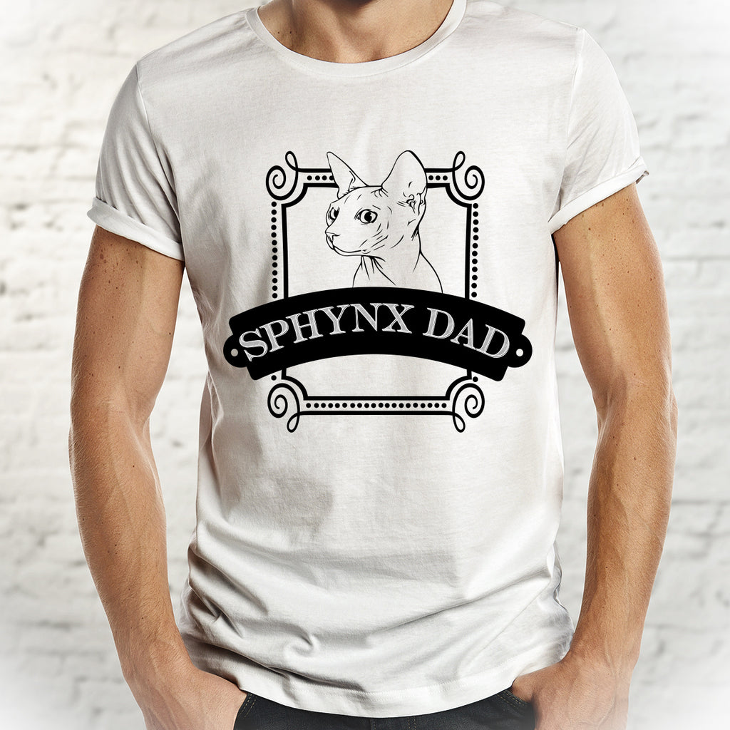 Sphynx Dad - Cat Dad Shirt - Pet Lovers Shirt - Rebels and Roses Boutique
