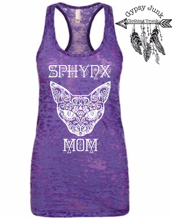 Sphynx Mom Top - Cat Lovers Shirt - Rebels and Roses Boutique