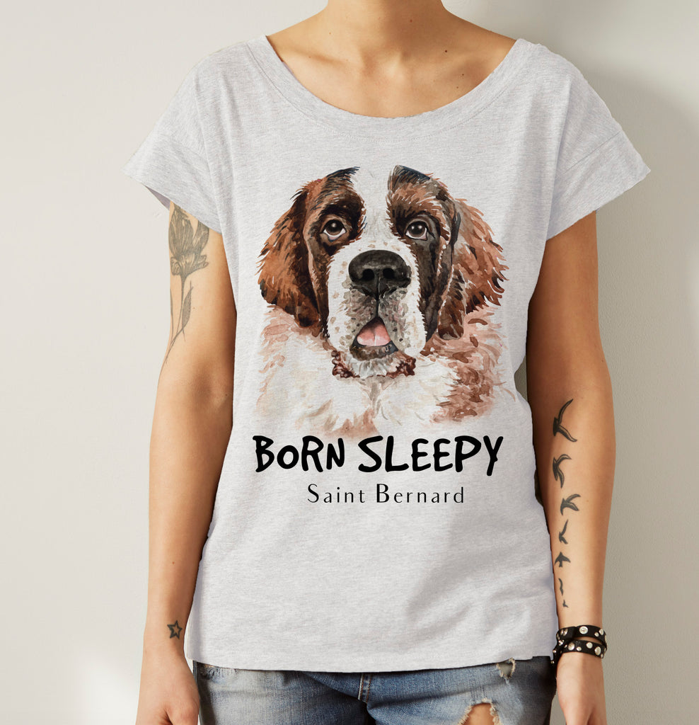 St. Bernard Dog Shirt - Pet Breed Shirt - Pet Lovers Shirt - Rebels and Roses Boutique