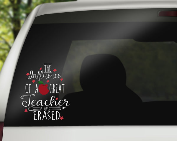 Teacher Quote Car Decals/Laptop Decals - Teacher Stickers - Rebels and Roses Boutique
