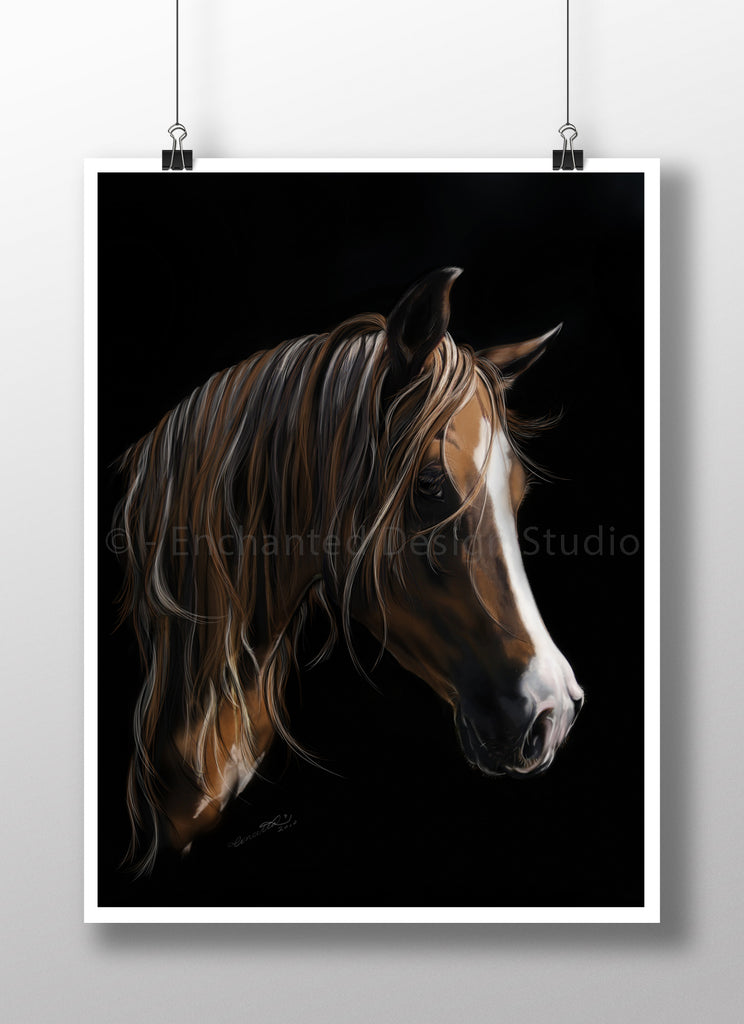 The Mare - Horse Wall Art - Horse Print - Horse Art Poster - Rebels and Roses Boutique