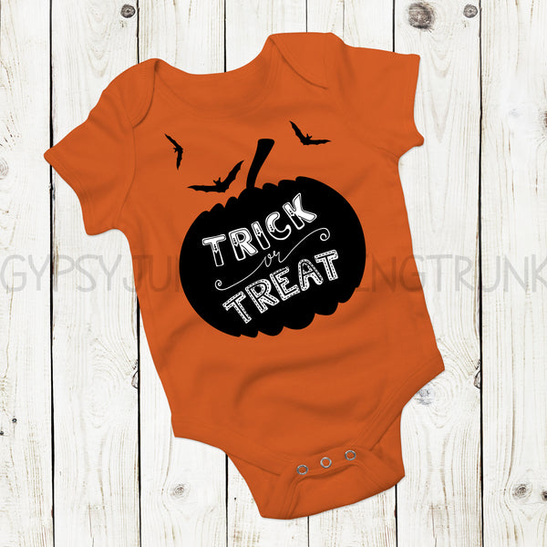 Trick or Treat - Halloween Baby Clothes - Gypsy Junk Clothing Trunk