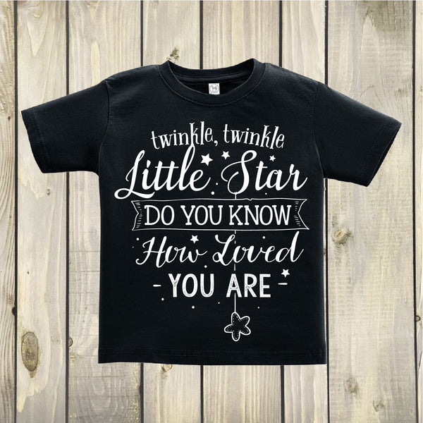 Twinkle Twinkle Little Star Toddler Top - Boho Woodland Kids Top - Gypsy Junk Clothing Trunk