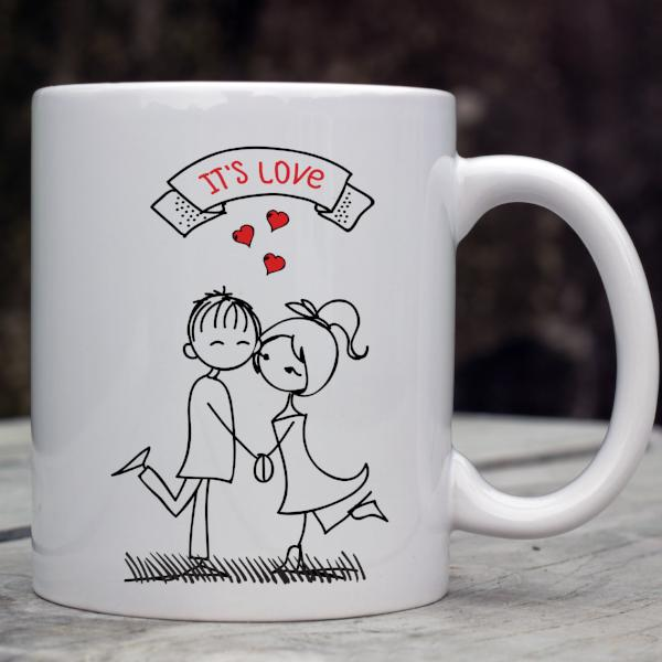It's Love Valentine's Day Mug