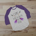 Come Vibe With My Tribe - Purple and White Boho Shirt - Gypsy Junk Clothing Trunk