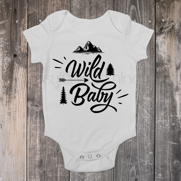 Wild Baby - Boho Baby Outfit - Gypsy Junk Clothing Trunk